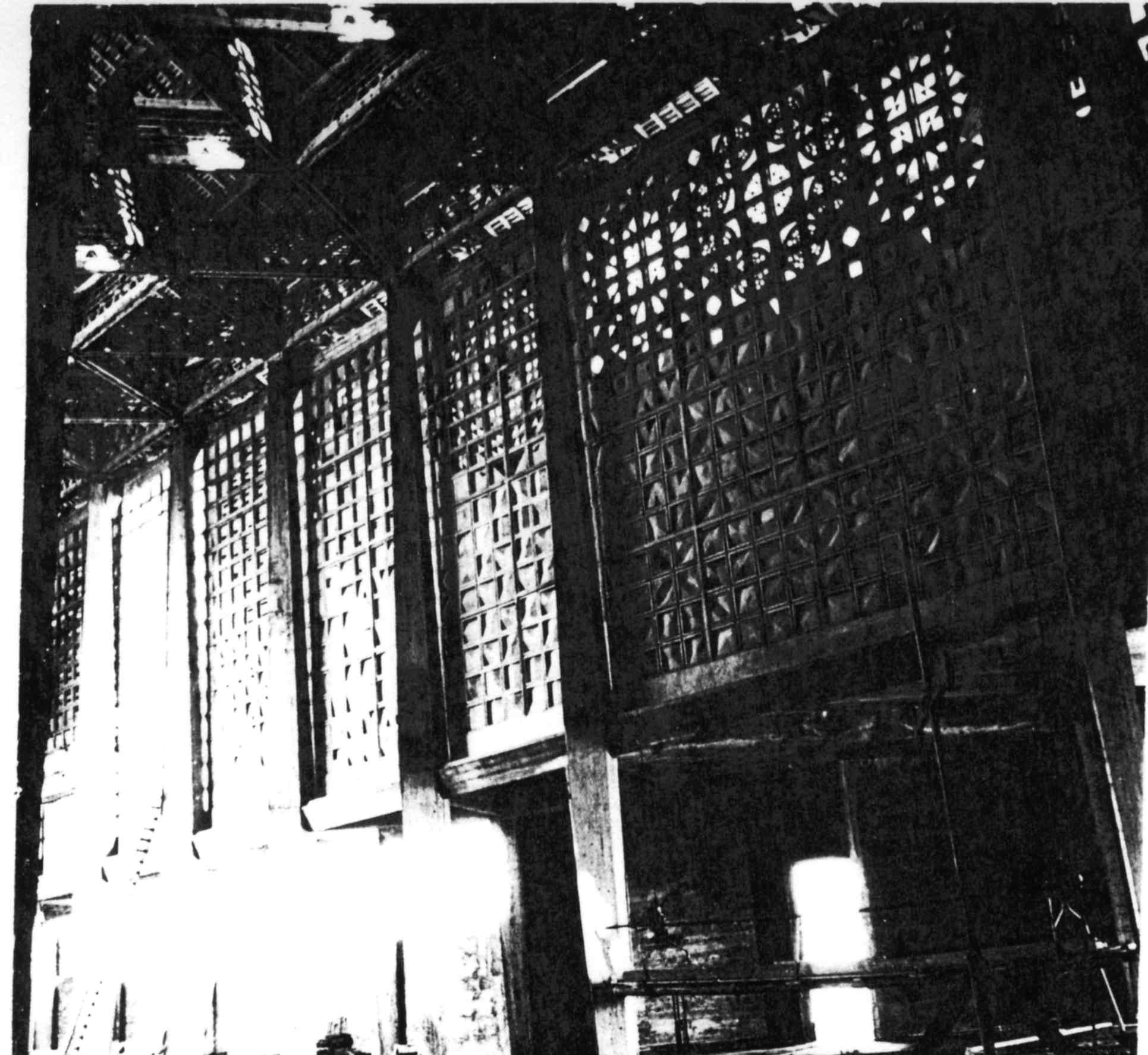 Autel et Porte du Tabernacle de l'Eglise du Couvent des Trappistes de Bricquebec