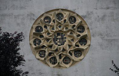 Rosace de l'église de la Vallée au Blé