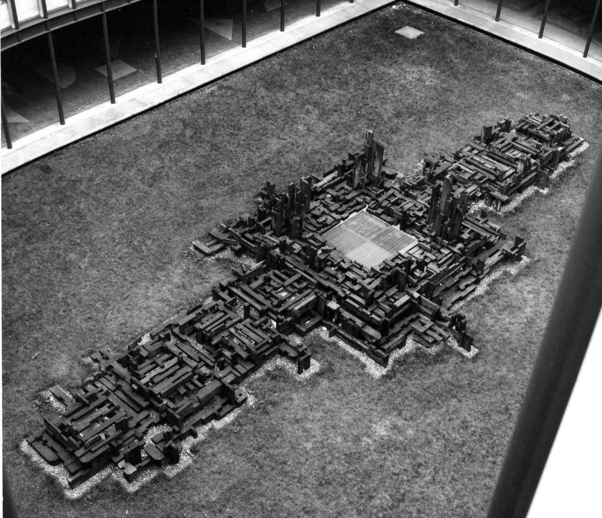 <p>Le labyrinthe de Jussieu</p>