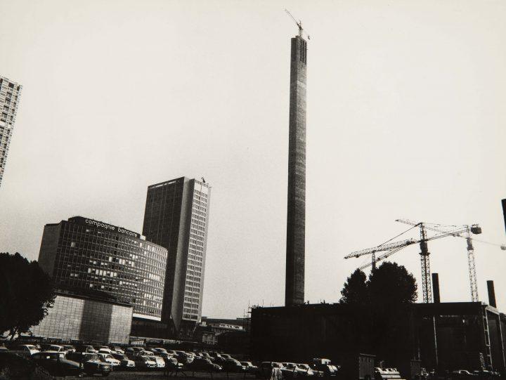 La grande cheminée du Front de Seine