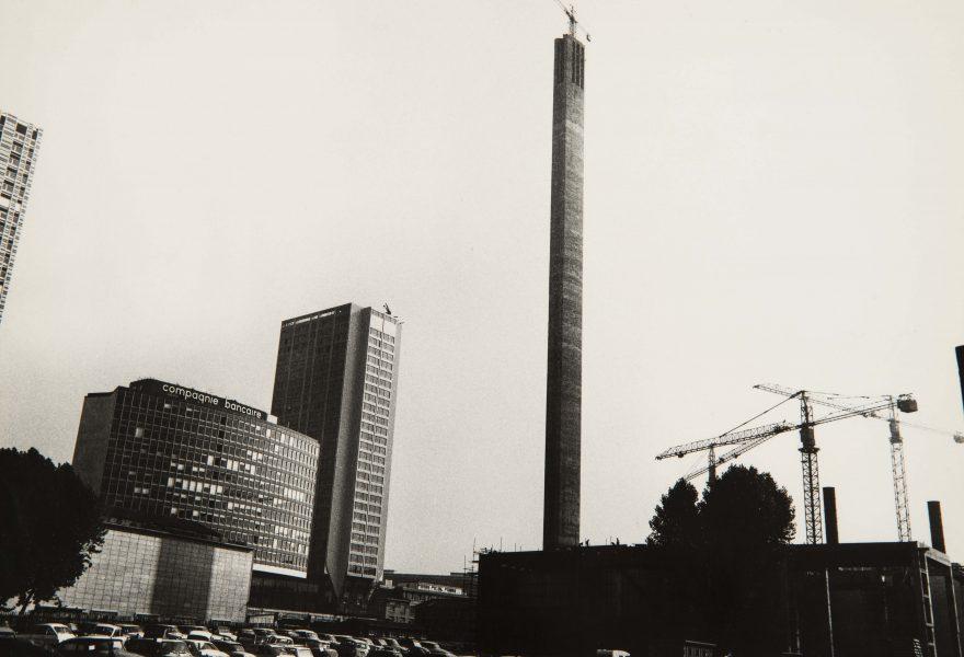 La cheminée du Front de Seine : «une sculpture architecturale»