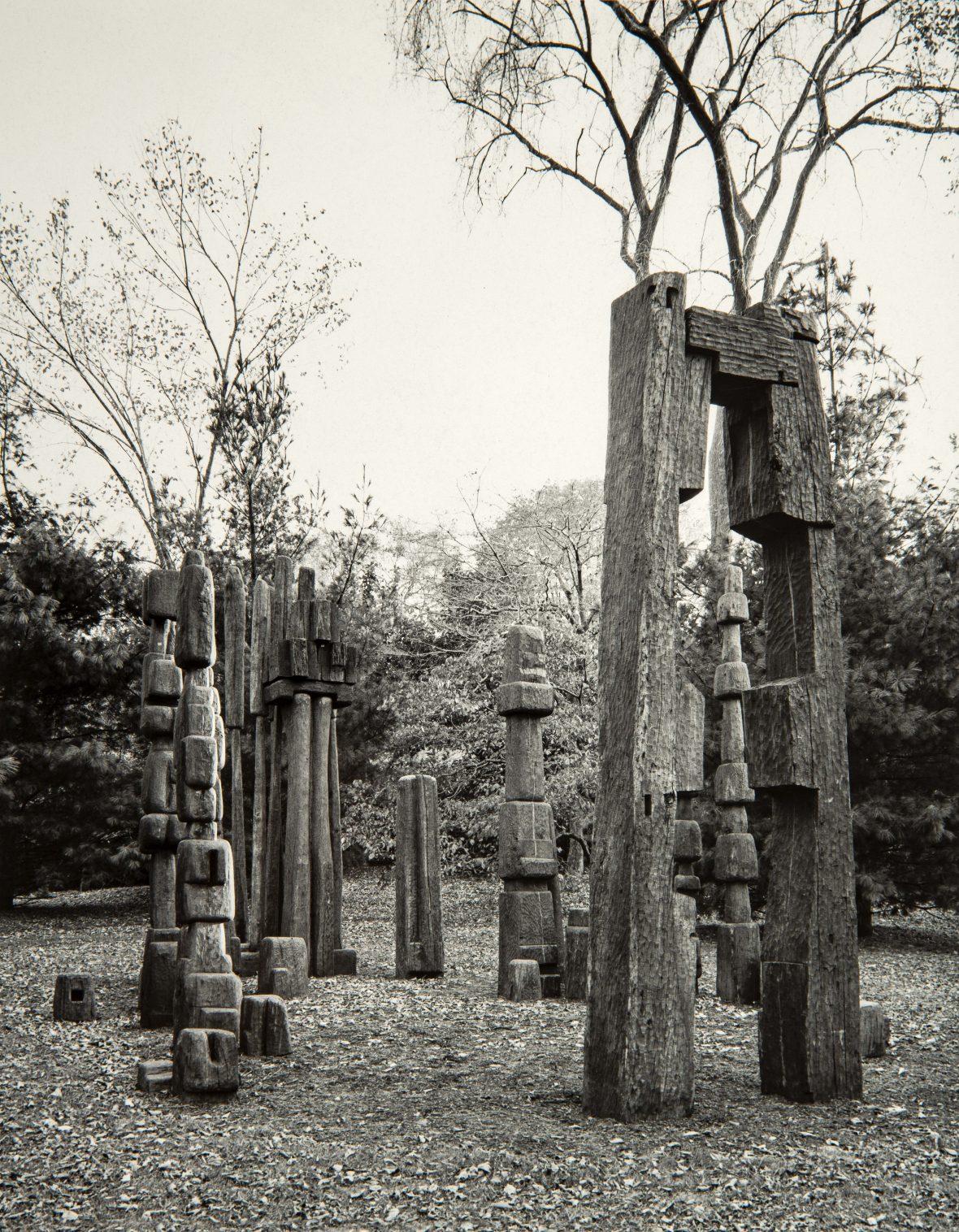 <p><em>L'été de la forêt</em>dans le jardin de Rockefeller à Tarrytown</p>