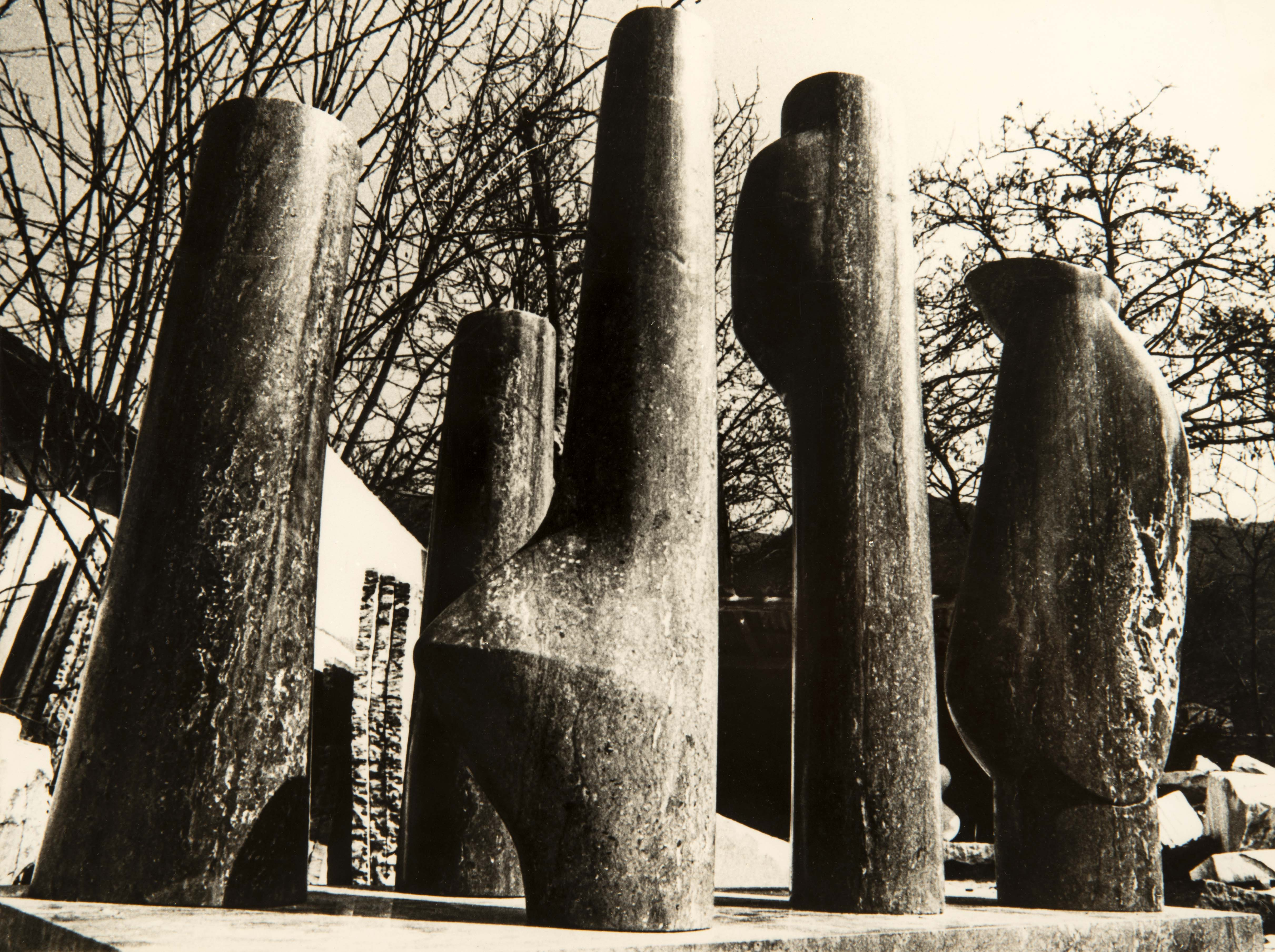 Les cinq stèles