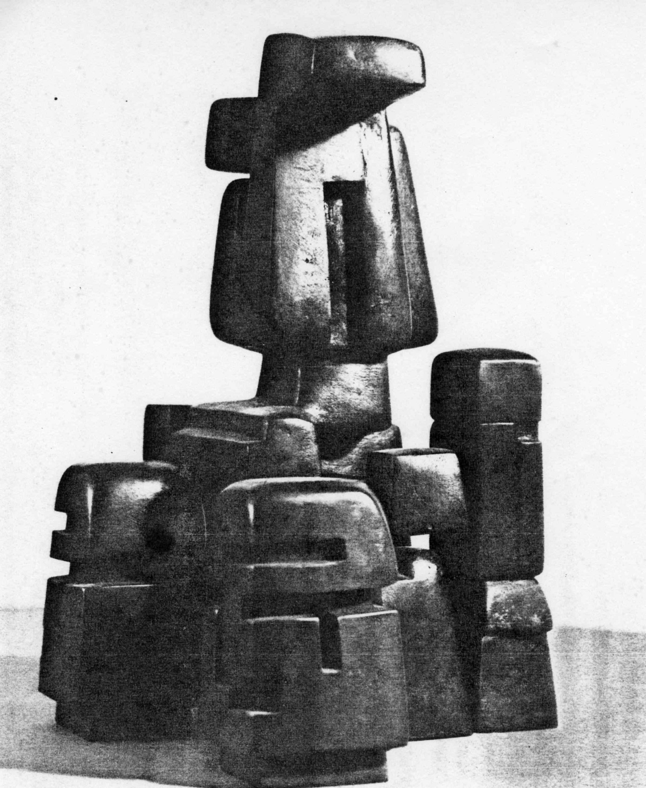 Projet pour une sculpture monumentale