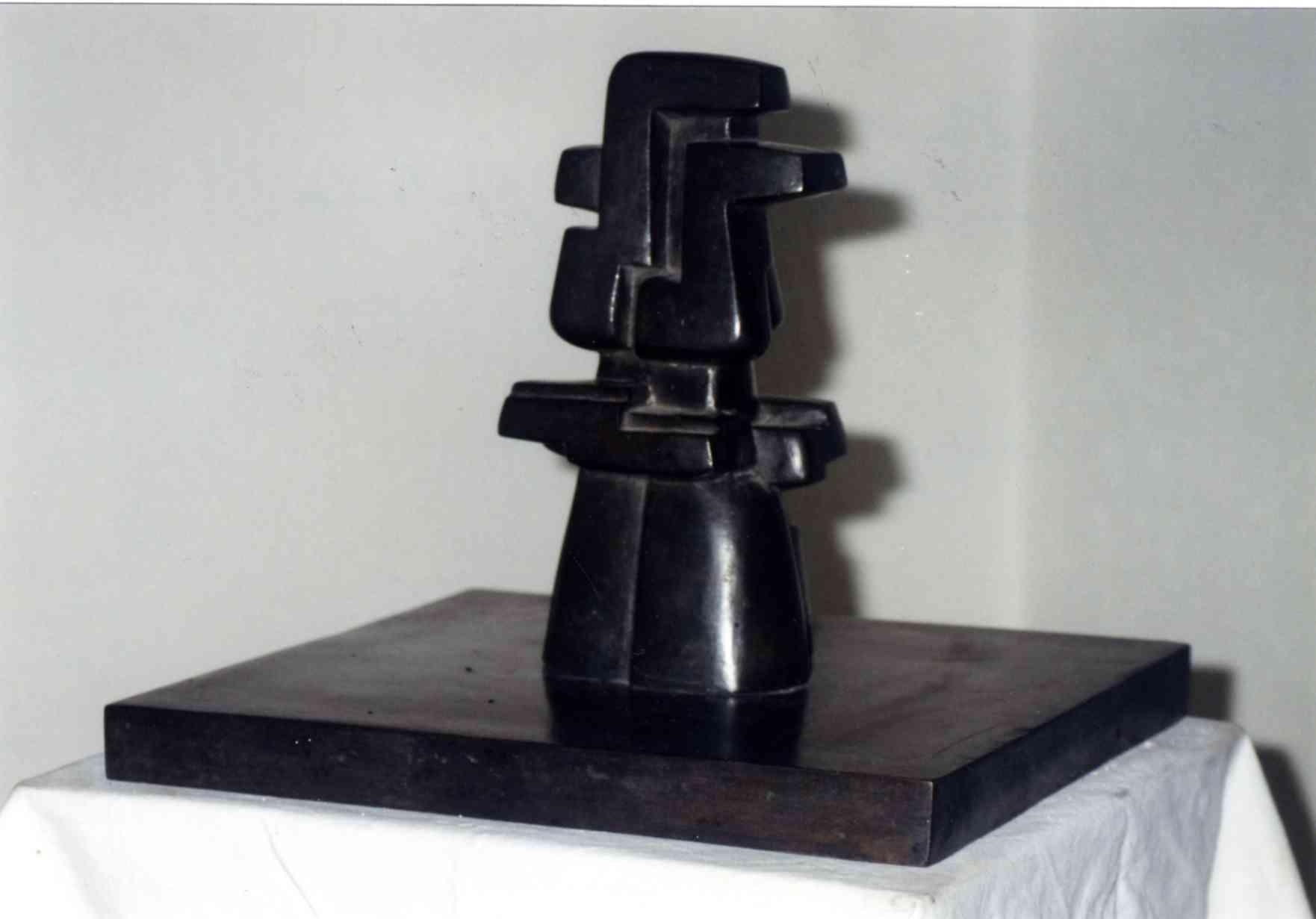 Sculpture à double bec